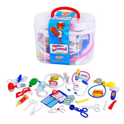 """Детский игровой набор Доктор """"Чудо аптечка"""" Limo Toy в чемодане (M 0461 U/R)"""