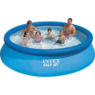 Бассейн надувной семейный Intex Easy Set 305х76 см (28120, 56920)