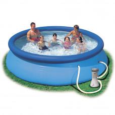 Надувной бассейн с насосом Intex 28132 (56422) 366х76см