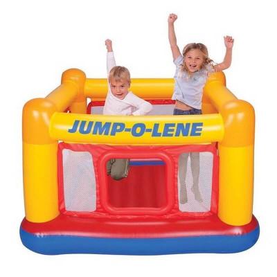 """Надувной детский игровой центр-батут Intex """"Playhouse Jump-O-Lene"""" (48260)"""