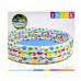 Бассейн детский надувной Intex Цветочный (56440)