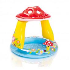 Бассейн детский надувной Грибочек Intex 57114 (102х89 см)