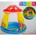 Бассейн детский надувной Грибочек Intex 102х89 см (57114)