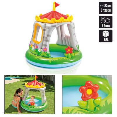 Бассейн детский Королевский замок Intex 122х122 см Royal Castle Baby Pool (57122)