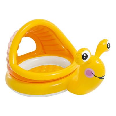 Детский надувной бассейн Intex Ленивая улитка (57124)