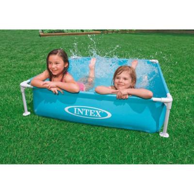 Детский каркасный бассейн Intex Mini Frame Pool 122x122x30 (57173)