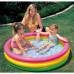 Бассейн детский надувной Intex Веселые колечки размер 114х25 см (57412)