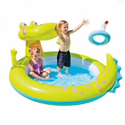 "Детский надувной бассейн Intex ""Крокодил"" 198х160х91см (57431)"