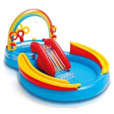 Водный игровой центр для детей Intex 57453 Радуга