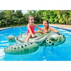 Плот надувной Морская черепаха Intex 57555 191х170см