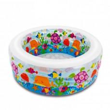 Бассейн детский надувной Аквариум Intex 58480 152х56 см