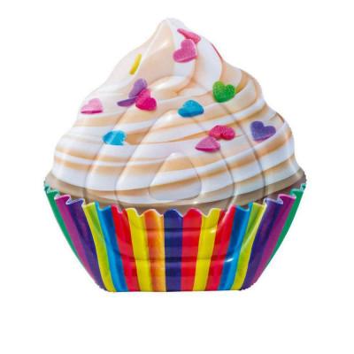 Надувной матрас-плотик Intex Cupcake 142х135 см (58770)