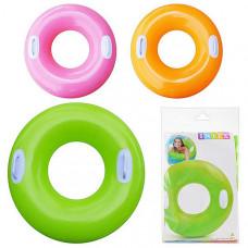 Детский надувной круг Intex Цветной - 76 см