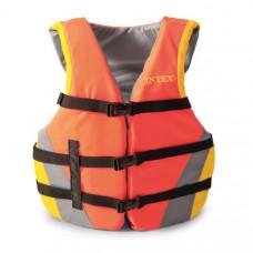 Спасательный жилет взрослый Intex 69681 - 76-132 см (Оранжевый)