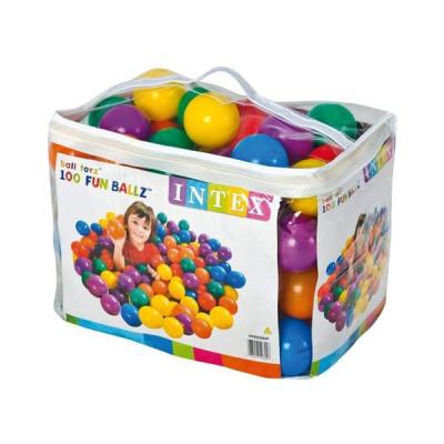 Набор мячей для сухого бассейна Intex, диаметр 8 см 100 штук (49600)