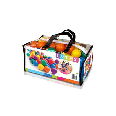 Набор мячей Intex для сухого бассейна, 100 шт в упаковке, d=6,5 см (49602)