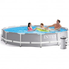 Каркасный бассейн Prism Frame Pool Intex 26712 366х76 см