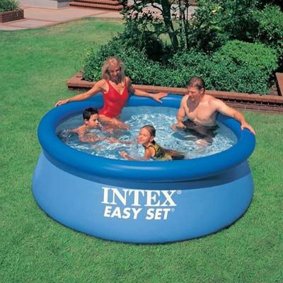 Бассейн надувной Intex Easy Set 244х76 см (28110, 56970)