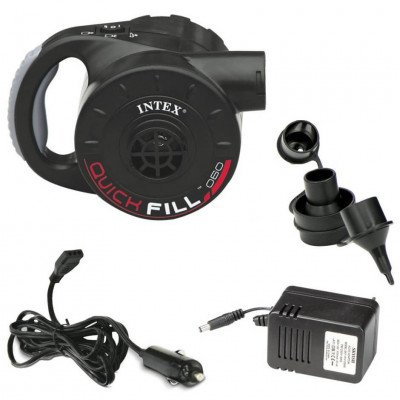 Насос электрический Intex Quick Fill 12В с аккумулятором (66622)