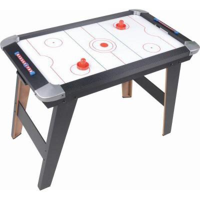 Настольная игра Воздушный хоккей деревянный, на ножках (20338)