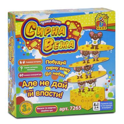 """Настольная игра """"Сирна вежа"""" Fun game Сырная башня (7265)"""