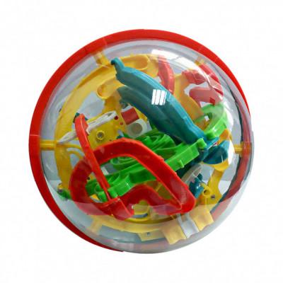 Детская головоломка 3D Шар лабиринт Magical Intellect Ball на 118 ходов (927A)