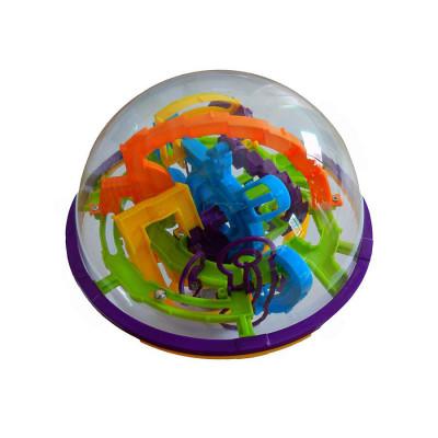 Детская головоломка 3D Шар лабиринт Magical Intellect Ball на 158 шагов (963)