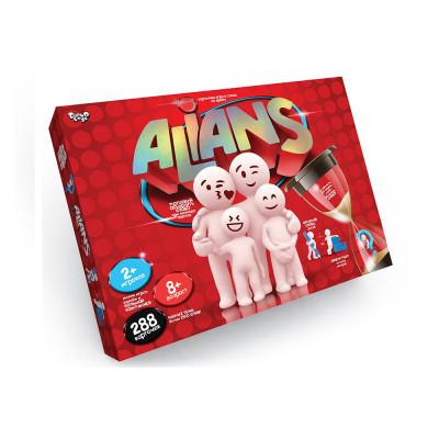 Настольная игра Alians Danko Toys карточная игра в слова (ALN-01)