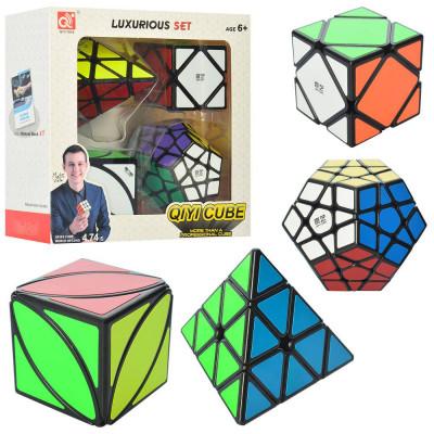 Набор головоломок Кубик Рубика 4шт (EQY527)