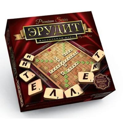 Настольная игра Эрудит Премиум Premium Series Danko toys русская версия (G-ER-01)