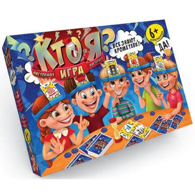 Детская настольная развивающая игра Кто Я? Danko toys большая (HIM-01-01)