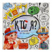 Детская настольная развивающая игра Кто Я? Danko toys (HIM-02-01)