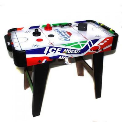 Настольная игра Воздушный хоккей деревянный, на ножках (ZC3003+2)