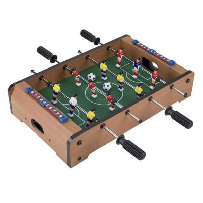 Настольный деревянный футбол - на штангах