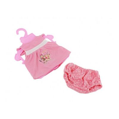 Одежда для кукол Беби Борн Розовая майка и шортики (BJ-10-12)