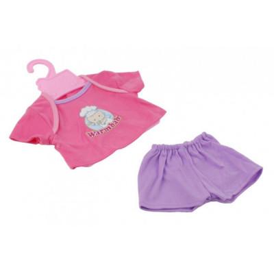 Одежда для кукол Розовая кофточка и фиолетовые шортики (BJ-10-13)
