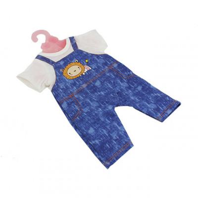 Одежда для кукол Беби Борн Костюмчик бело-синий (BJ-10-7)