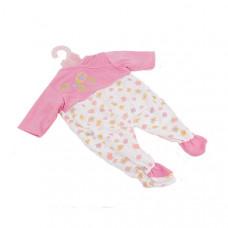 Одежда для кукол Беби Борн Комбинезон розово-белый