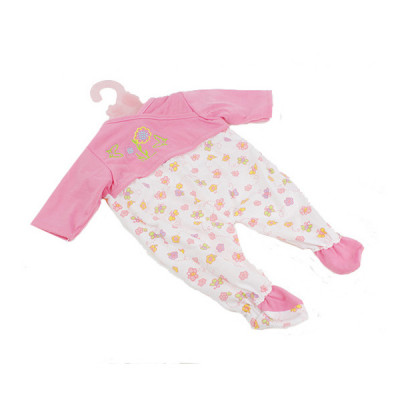Одежда для кукол Комбинезон розово-белый (BJ-17-2)