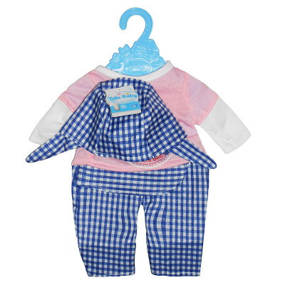 Одежда для кукол Футболка, штанишки и кепка (BLC14-08-02-B)