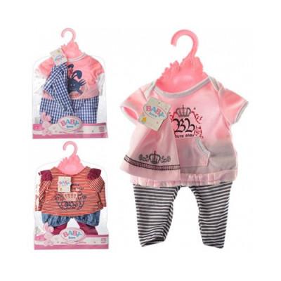Одежда для кукол Беби Борн Футболка, штанишки и кепка (BLC14-08-02-C)