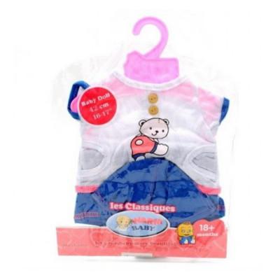 Одежда для кукол Беби Борн Baby Born Футболка, шортики и кепка (BLC14-08-02-D)