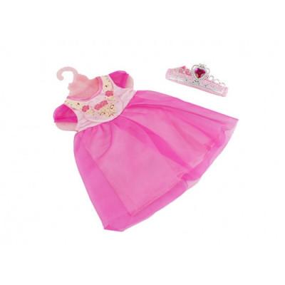 Одежда для кукол Платье розовое с короной (BLC14-08-02-E)