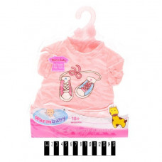 Одежда для кукол Беби Борн Розовая кофточка и шортики