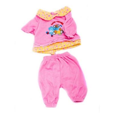 Одежда для кукол Розовый костюмчик, кофточка и штанишки (DBJ-434-3)
