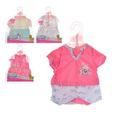 Одежда для кукол Беби Борн Летняя в ассортименте (DBJ-435)