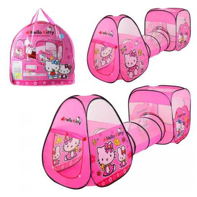 Детская игровая палатка-тоннель Hello Kitty (М 3775)