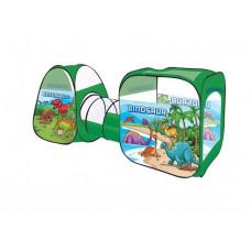 """Детская игровая палатка - тоннель Play Smart """"Динозавры"""" 8015 KL (270х92х92 см)"""