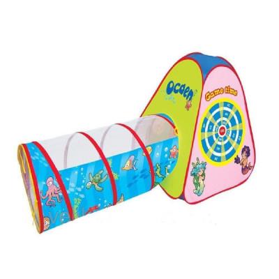 Детская игровая палатка-тоннель Океан (889-176 В)