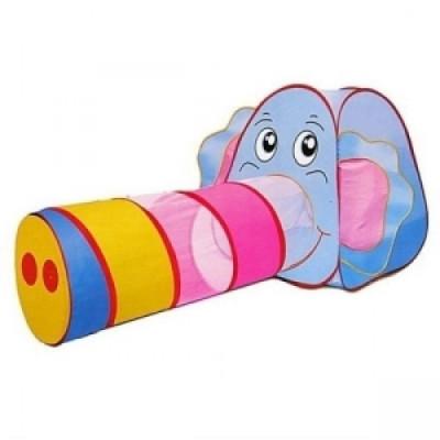 """Детская игровая палатка с тоннелем """"Слоник"""" Baby Tilly (889-87В)"""